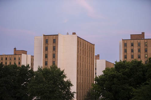 photo of towers complex